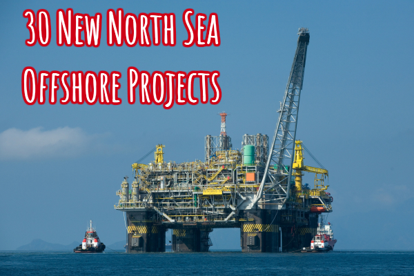 north sea offshore projects